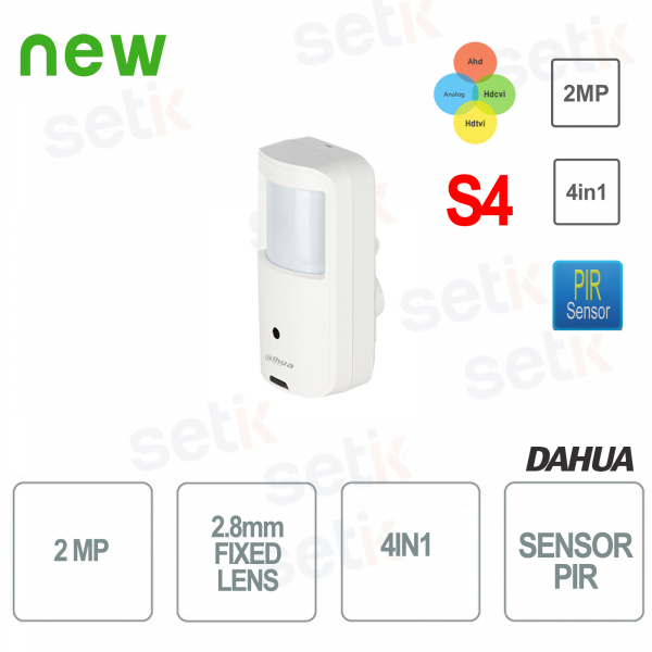 Telecamera 4in1 2MP PIR Dahua