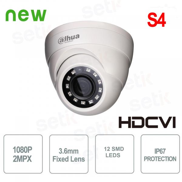 Telecamere HDCVI Dome Eyeball 1080P 2MP SMD Alluminio - Lite Dahua