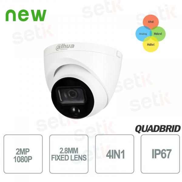 HD CVI 2MP 4in1 2.8mm PIR Dahua outdoor camera