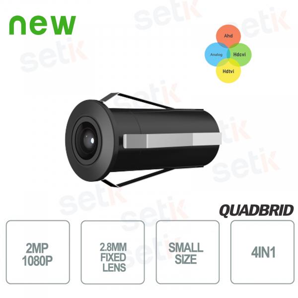 Mini telecamera da esterno HD CVI 2MP 4in1 2.8mm - Dahua