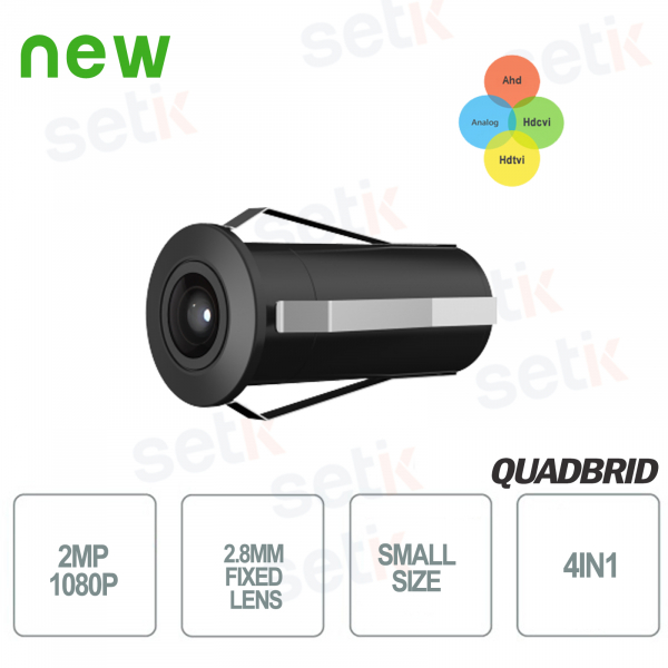 HD CVI 2MP 4in1 2.8mm outdoor mini camera - Dahua