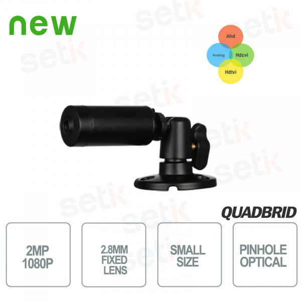 Outdoor mini camera HD CVI 2MP 4in1 2.8mm Pinhole lens - Dahua