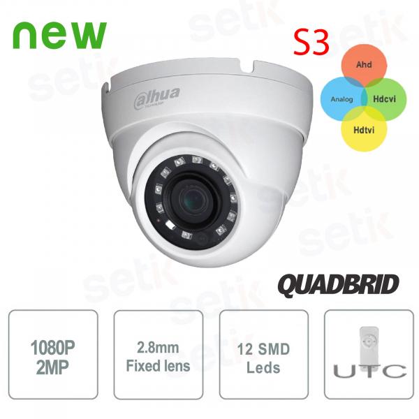 1080p camera dahua 4in1 hdcvi hdtvi ahd analog 2.8mm