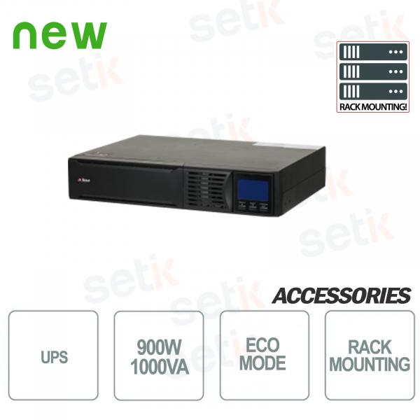 Sistema de alimentación ininterrumpida UPS 1000VA 900W RACK