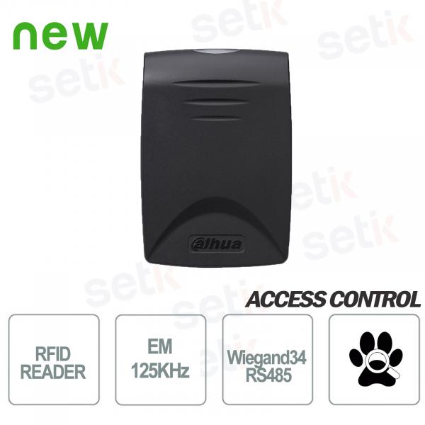 Lettore di prossimità Tessere RFID EM 125KHz RS485 Dahua
