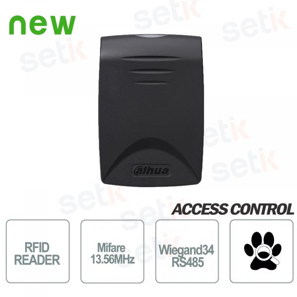 Lettore di prossimità Tessere RFID MIFARE 135MHz RS485 Dahua