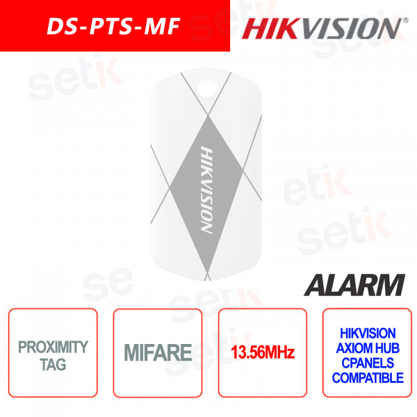Wireless TAG Hikvision AXIOM Hub for MIFARE 13.56MHz RFID rea