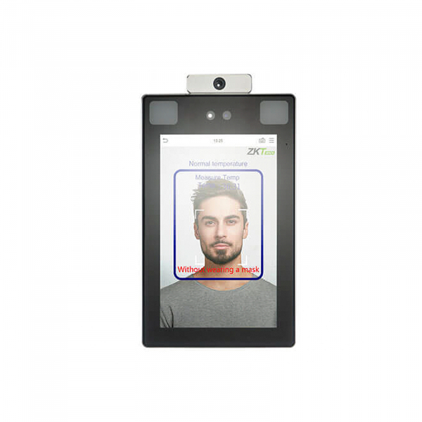 ProFace X [TD] ZKTeco Biometric Reader Face Recognition Temperature Measurement Mask Detection