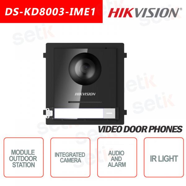 Outdoor station 2MP camera + AUDIO ALARM IP65 - HIKVI