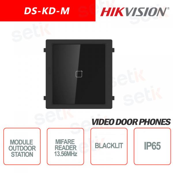 MIFARE card reader external expansion module 13.56MHz Backlit - HIKVI