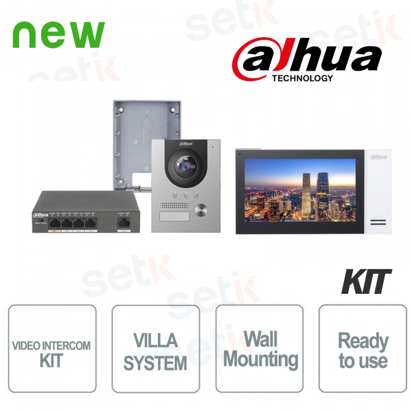 Dahua Complete Surface IP Villa Video Door Phone