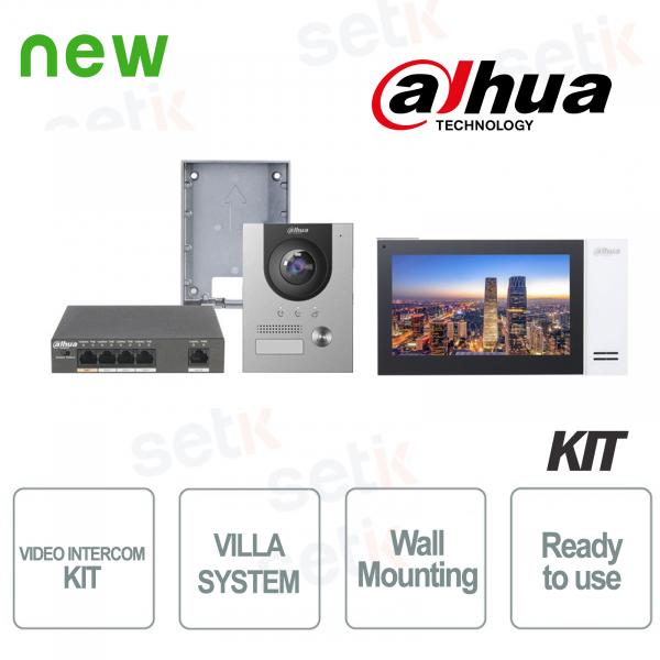 Dahua Kit Videocitofono IP Villa da Superficie Completo
