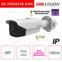 Telecamera Termica Hikvision Bi-spectrum Professionale Misurazione Temperatura Corpo