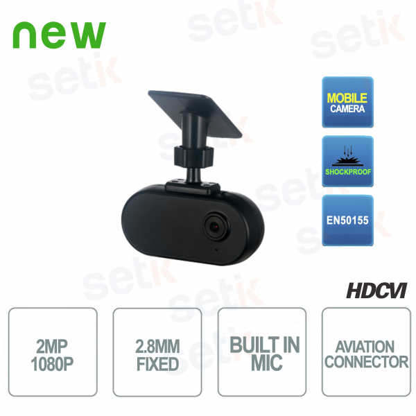 CVI 2MP Mobile 2.8mm Audio Dahua HD Video Surveillance Ca