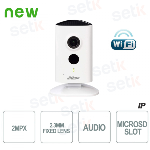 Indoor IP camera 2MP HD WiFi and IR LED - Series C - D