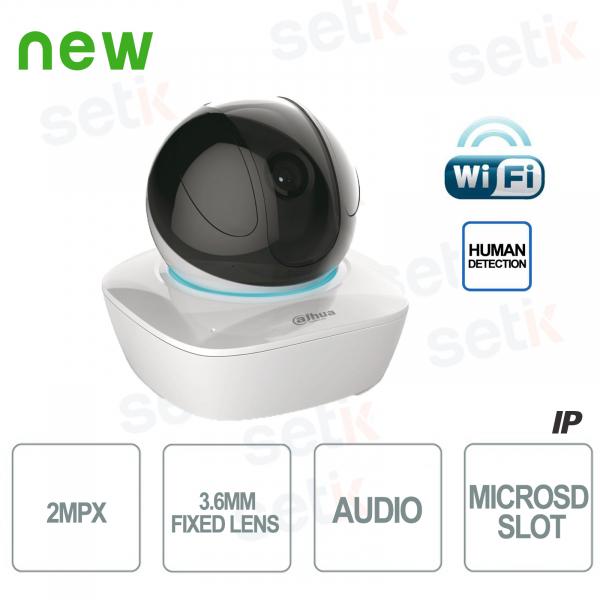 Telecamera IP Da Interno PT 2MP HD Wireless IR - WiFi Serie - Dahua