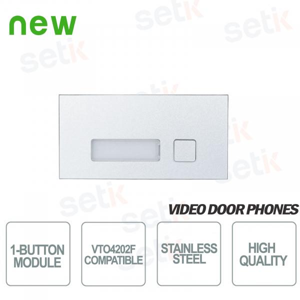 1 Button Module for VTO4202F Intercom - D