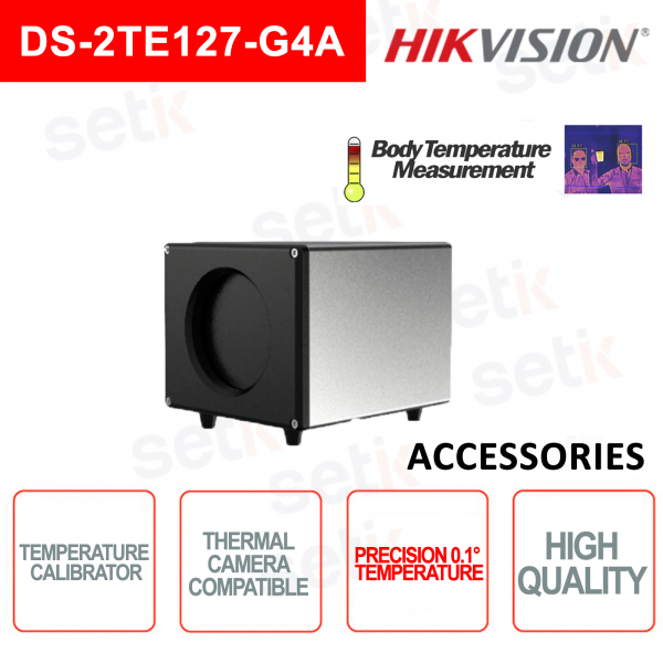 Black body Hikvision Calibrator Blackbody Temperature Screening for Thermal Camera
