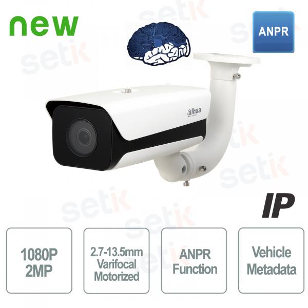 AI Telecamera Dahua IP esterna 2MP PoE ANPR WDR Motorizzata