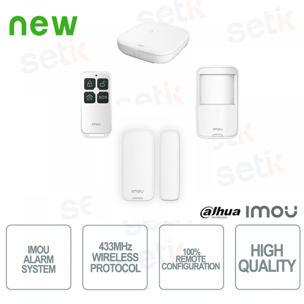 IMOU Kit di Allarme Professionale Wireless senza fili
