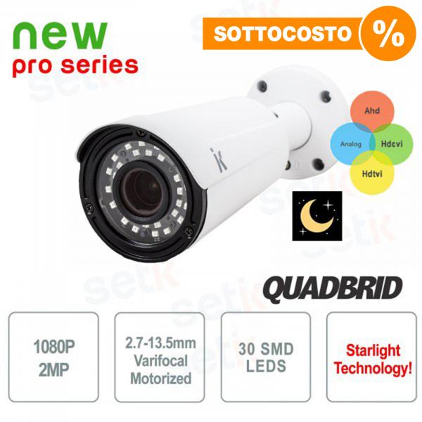 Telecamera 4in1 1080P Motorizzata Starlight WDR - Pro Setik