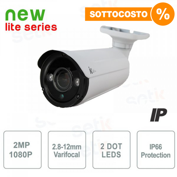 Telemera IP Bullet 2MP 2.8-12mm Dot Led - Setik Lite
