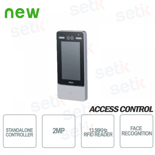 ASI7213Y-D-V3 Dahua Access Control Terminal Face Recognition RFID Card Reader 13.5