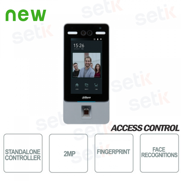 ASI7214Y Dahua Access Control Facial Recognition Card reader terminal 13.5