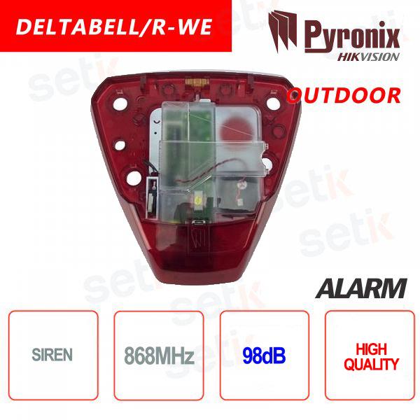 Outdoor Alarm Siren Pyronix Hikvision AXIOM HUB outdoor 868MHz