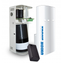 White Smoke System Burglar Alarm KIT Union Smoke 100B + Cartridge 100m3 UR