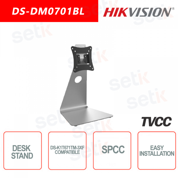 Hikvision Table stand for DS-K1T671TM-3XF Access Control Terminal Temperature Measurement Faceplate Detec