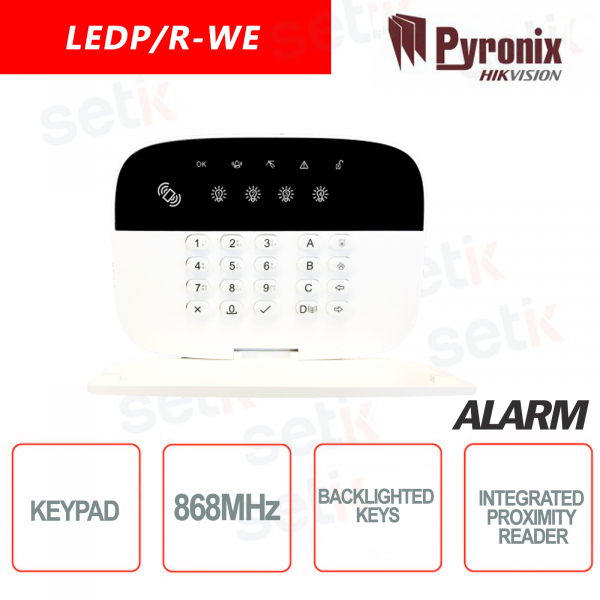 Pyronix-Hikvision 868MHz Wireless Ke