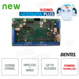 Antifurto Centrale Allarme Filare Bentel Wireless Absoluta Plus 18 Zone