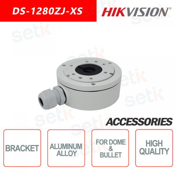 Staffa in lega di alluminio per telecamere dome e bullet - HIKVISION