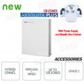 Antifurto Centrale Allarme Filare Bentel Wireless Absoluta Plus 128 Zone GR3 Contenitore e Alimentazione
