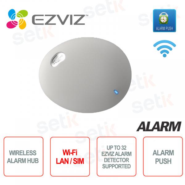 Antifurto Centrale Allarme HUB EZVIZ A1S Wi-Fi LAN SIM fino a 32 Sensori
