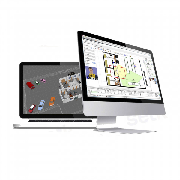 Expert JVSG CCTV Software per sistemi videosorveglianza ip design tool