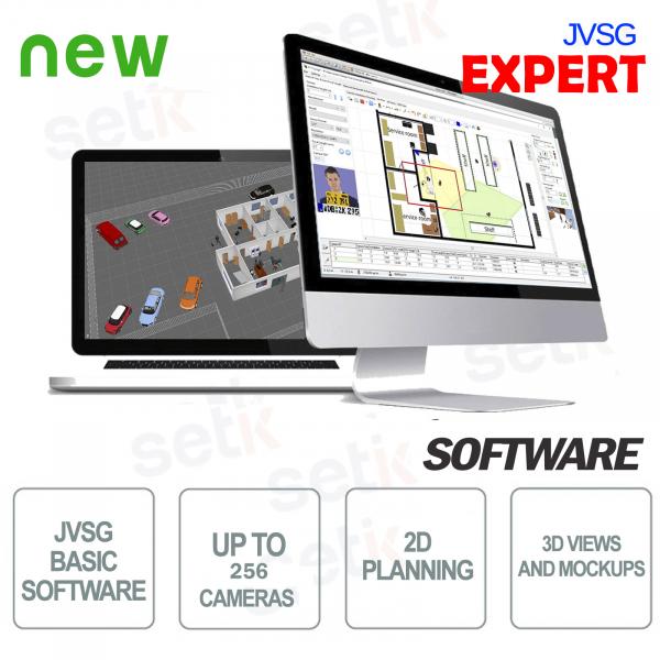 Expert JVSG CCTV Software for video surveillance systems ip design tool