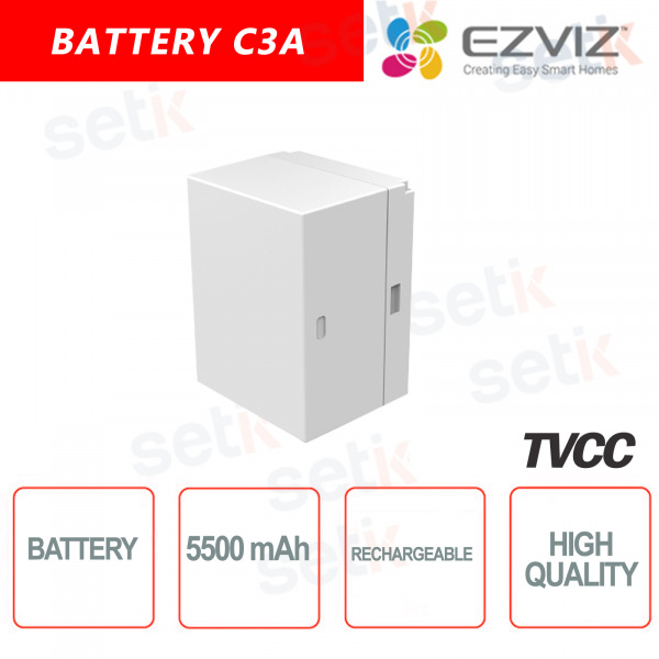 Ezviz Batteria per telecamera C3A Fino a 5500 mAh