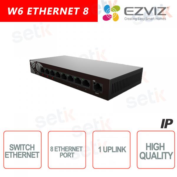 Ezviz Switch 8 Canali Ethernet + 1 Uplink