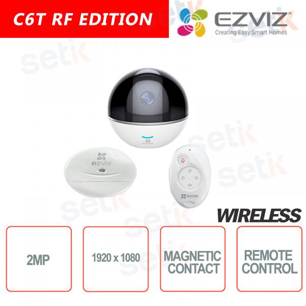 EZVIZ KIT WIRELESS 2MP Camera Integrated alarm control unit + 1 Magnetic Contact + 1 Remote Control