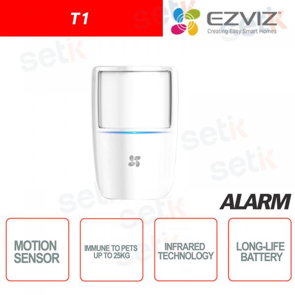 Ezviz Motion sensor PIR technology Immune to animals up to 25KG