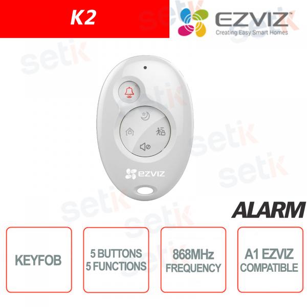 Telecomando Allarme Wireless Keyfob EZVIZ A1 Centrale