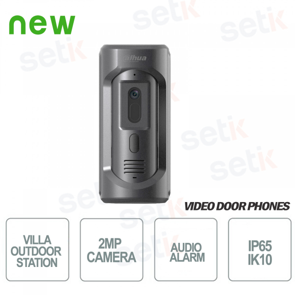 Outdoor station with 2MP Audio and Alarm camera - D