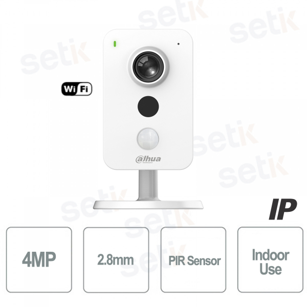 Dahua Ip Camera Internal Surveillance 4MP Portable with WIFI PIR Alarm Sensor