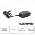 12V 1A power supply for CCTV cameras - EU Socket