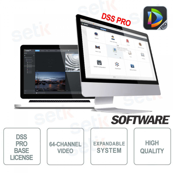 VMS Dahua Software DSS PRO Basic License