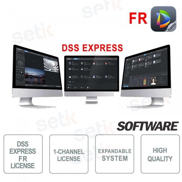 VMS Dahua Software DSS EXPRESS Facial Recognition License