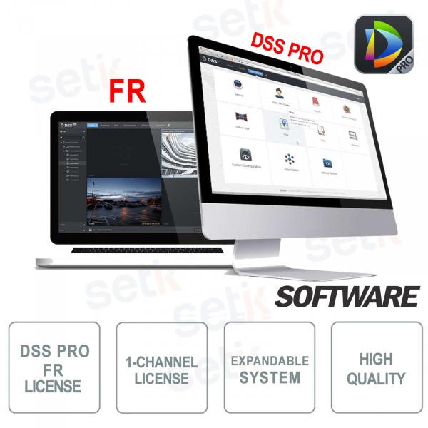 VMS Dahua DSS Software PRO Facial Recognition License