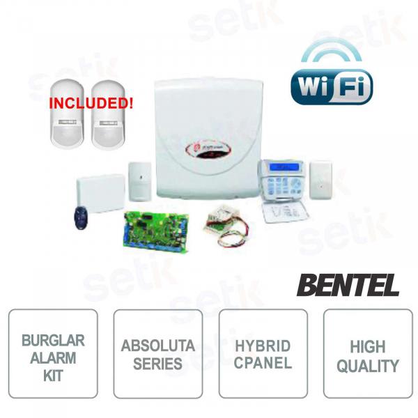 Promo Kit Absoluta Bentel WiFi ABS-14KITSW + Perimeter Sensors